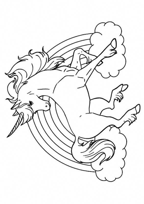 Top 25 Unicorn Coloring Pages For Toddlers Rainbowshmmm Unicorn