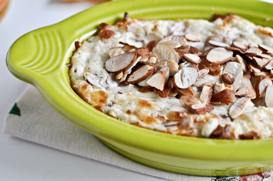 toasted almond parmesan dip...