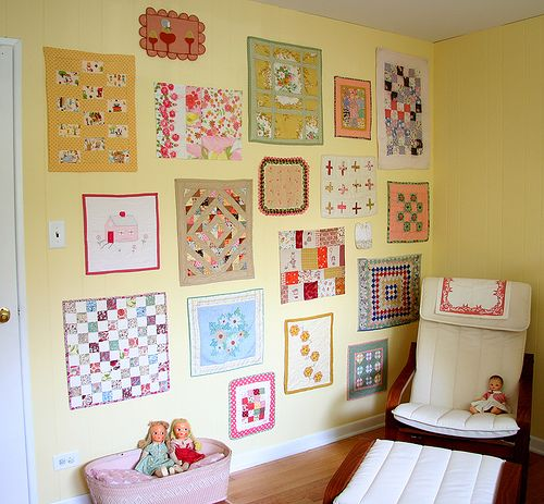 Decorating with Mini Quilts