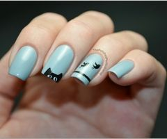 funny nail art