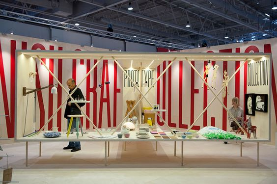 Danish Craft stand at Maison & Objet
