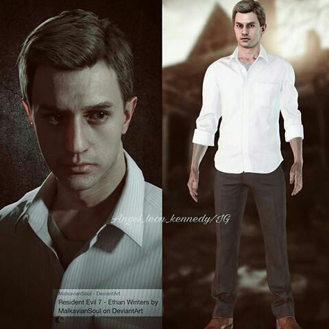 Ethan Winters Resident Evil Fictional Characters Evil