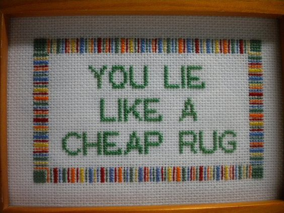 You Lie Like A Rug By Shae Merritt I Really This