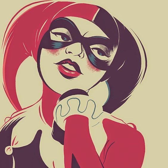 Linda e foda <3  |  Harley Quinn