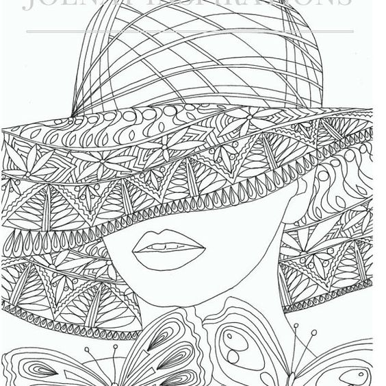 j coloring pages for adults - photo #50