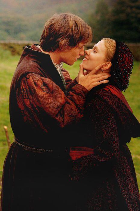 The Other Boleyn Girl (2008) Eddie Redmayne as William Stafford and Scarlett Johanson as Mary Boleyn pictured