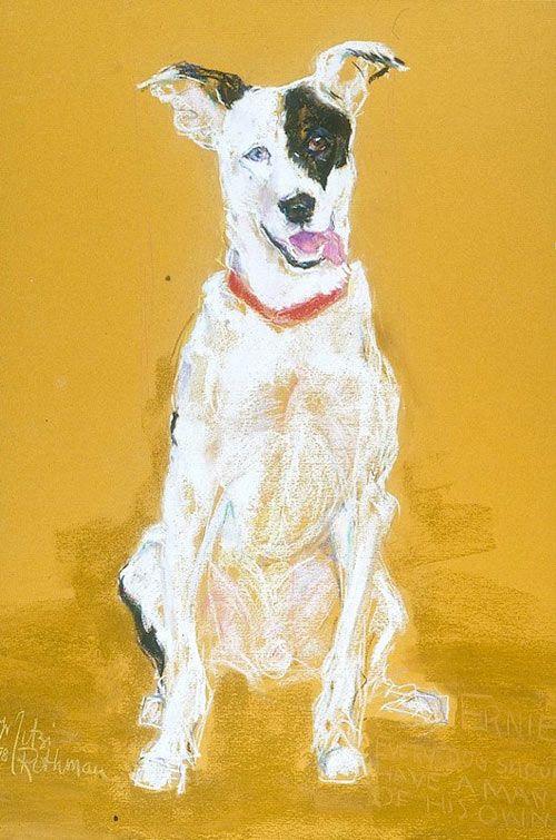 Artist Mitzi Rothman featured on Dog Milk