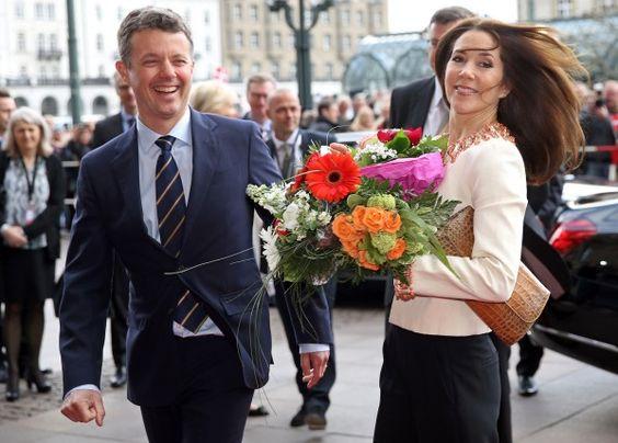 Dänisches Flair in Hamburg: Frederik und Mary sind da