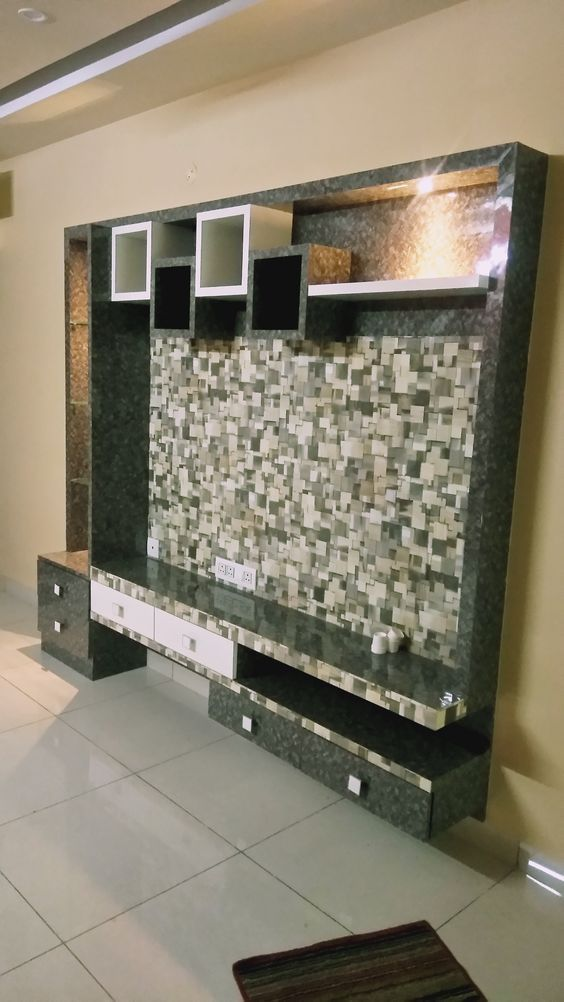 Lcd Tv Wall Decoration Ideas Wall Tv Unit Design Tv Wall Design Tv Unit Furniture #wall #cabinet #designs #for #living #room