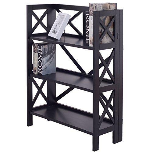 Bookshelf Rack 3 Tier Home Furniture Bookcase Shelf Storage Organizer