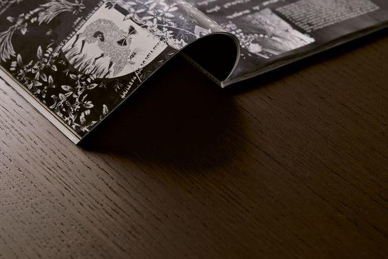 tavolo quadrato 140x140 allungabile : Tavolo allungabile quadrato Ambra - dettaglio del piano in legno ...