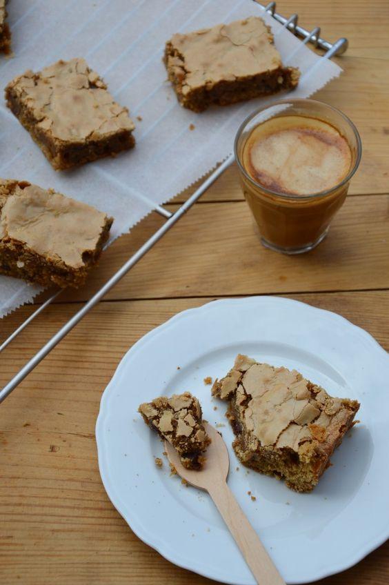 Tendre brownie choco - café - noix - Plus une miette