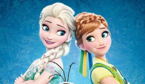 La reine des neiges    elsa et Anna