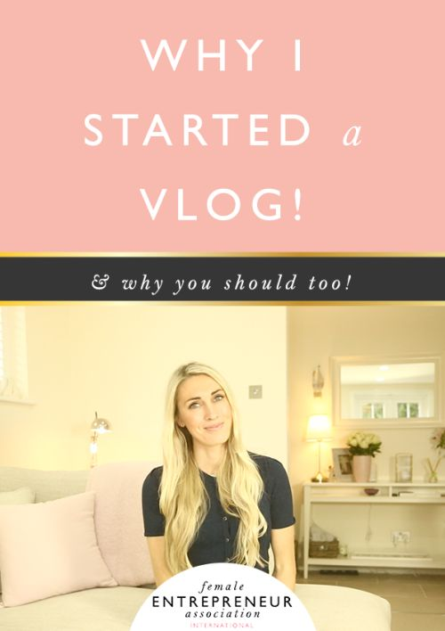 Why I started a Vlog  a compelling reason why you should too! #WorkAtHome