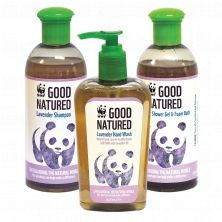 Pamper yourself with this set of 3 natural WWF toiletries, mix and match shampoo, conditioner and foaming shower gel. Shop now: shop.wwf.org.uk