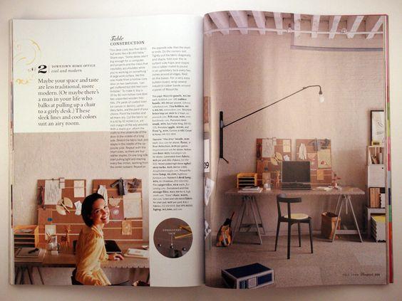 2006 Fall- Blueprint magazine, a Martha Stewart Living Publication - new blueprint interior design magazine