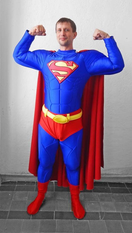 Diy Superman Costume Superman Halloween Costume Superman