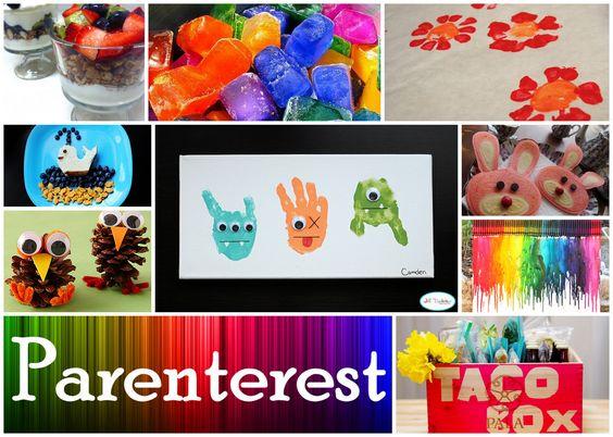 Crafts, Recipes, and More.     www.parenterest.com