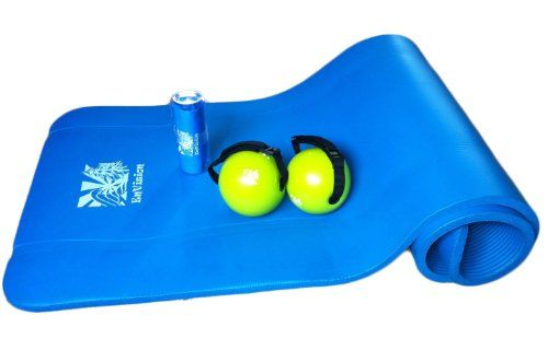 EnVision Fitness Package 2 pound toning balls, exercise mat and FREE flex band ENVISION