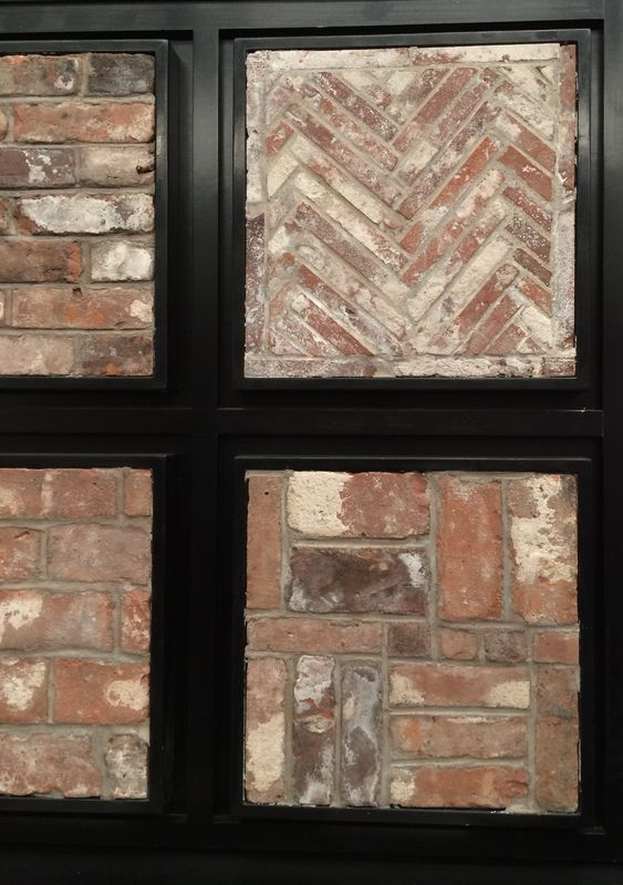 Thin Brick Veneer Thin Brick And Fireplace Brick On Pinterest
