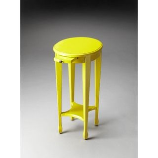 Shop For Butler Arielle Yellow Round Accent Table. Get Free Delivery At  Overstock.com
