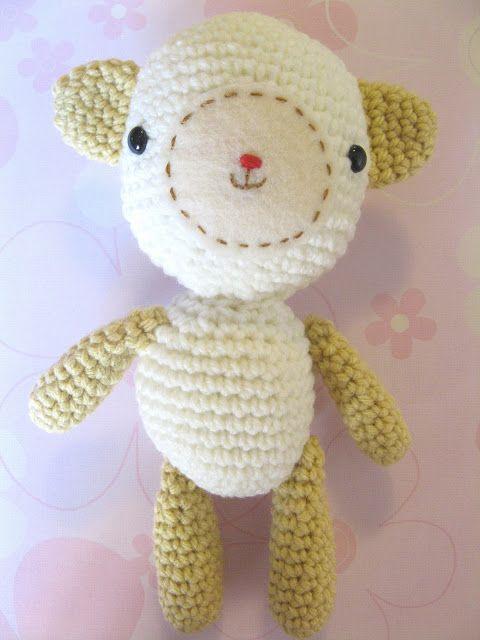 Monkey BooBoo Crochet: Little Lamb (Free Pattern) | Amurigami ...