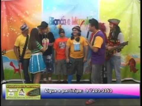 Pela primeira vez na TV a banda Os Geleias!!!!