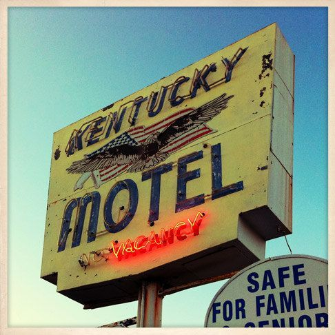 Kentucky Motel Sign St Petersburg Florida Photo Print 8 X 8