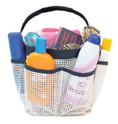 Kangaroom Storage Mesh Everything Tote - WSC01078NVKRSD