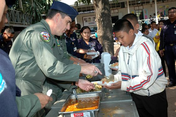 Air Force Medical Team Performs Goodwill Mission In Thailand