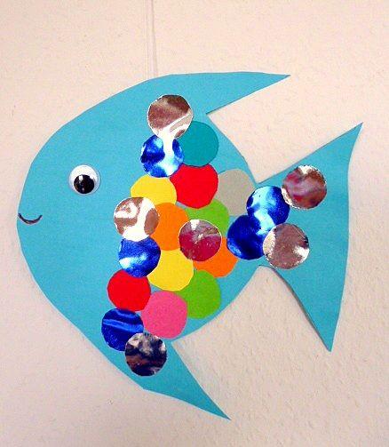 Fische Basteln Kindergarten Dansenfeesten