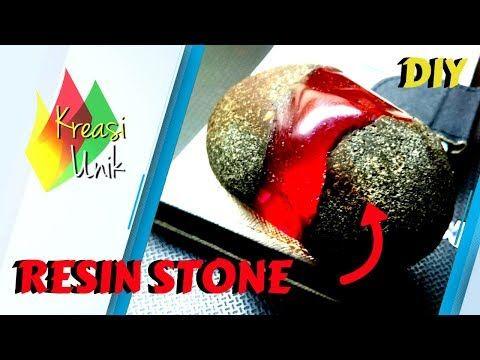Kerajinan Resin Batu Kombinasi Resin Resin Stone Kreasi Unik