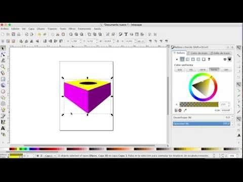 Como hacer dibujos en la computadora con Inkscape  Parte 3