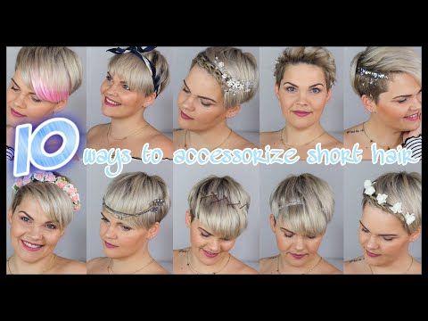 10 Einfache Frisuren Fur Kurze Haare Hochzeit Wiesn Alltag Festival Youtube Dirndl Frisuren Kurze Haare Frisuren Kurzhaar Kurze Haare Stylen Haarband