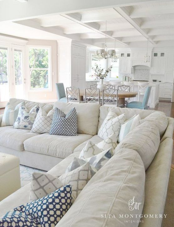24 Awesome Nautical Home Decoration Ideas Coastal Style Living Room Beach House Interior Design Farm House Living Room