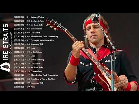 Dire Straits Greatest Hits Full Playlist 2018 The Best Songs Of Dire Straits Youtube Best Songs Greatest Hits Dire Straits