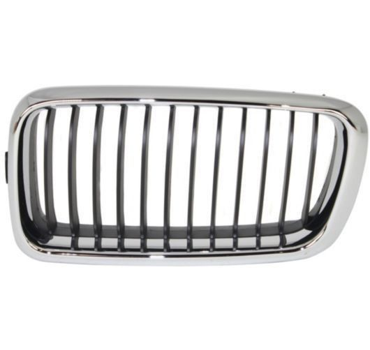 New For Bmw 740i 740il Left Grille Black Fits 1999 2001 Bm1200130 51138231593 Brandnew100 With Images Bmw Sedan Chrome