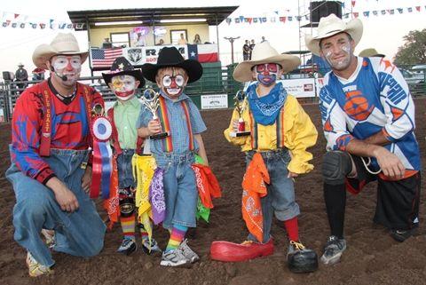 Kids Rodeo Clown Contest Love My Grandkids