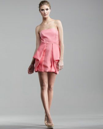 I ADORE this dress AND that color!!!!