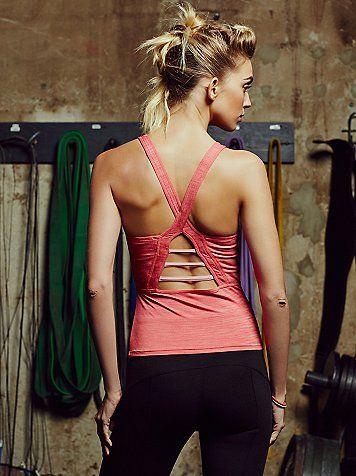 pink prism workout tank