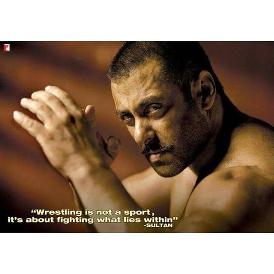 #salmankhan's New Look For his Upcoming Movie #sultan