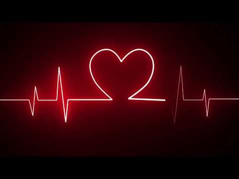 Motion Made Cardiogram Heartbeat Heat Pulse Glowing Red Neon Light Loop Animated Background Dark Red Wallpaper Neon Light Wallpaper Red And Black Wallpaper