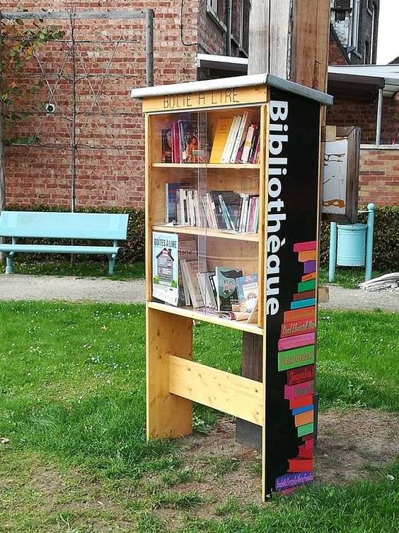 Boîte à Lire Vaux-sous-Chèvremont