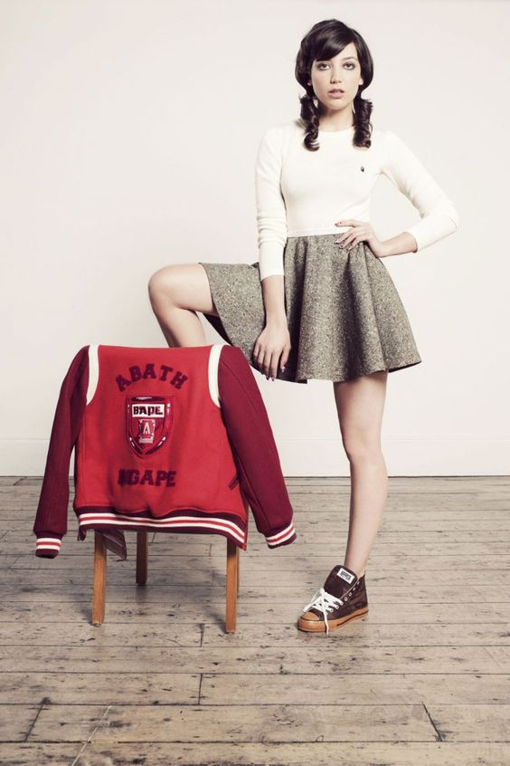 Daisy Lowe for BAPE Women's A/W '11