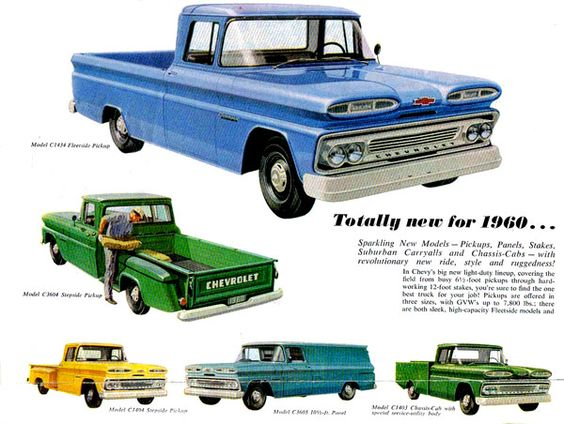 1960 Chevy Trucks With Images Chevrolet Trucks Chevy Trucks