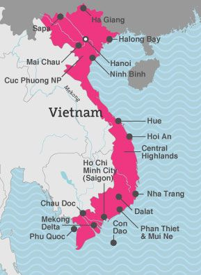 Selective Asia Vietnam itinerary