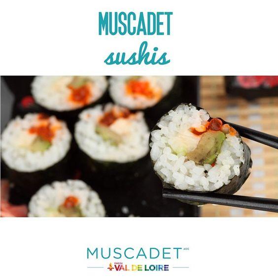 [Muscadet + Sushis ] Ce soir c'est #sushis, Il est l'heure de mettre le #Muscadet au frais ! #vinsvaldeLoire http://www.vinsvaldeloire.fr/SiteGP/FR/Appellation/Appellation/Muscadet