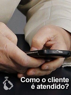 Como o cliente é atendido - selo teste das operadoras de celular (Foto: G1)