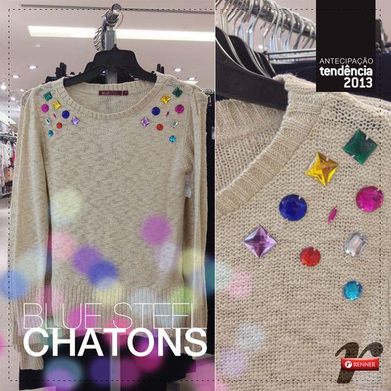 Chatons em peças do vestuário são tendência em 2013
