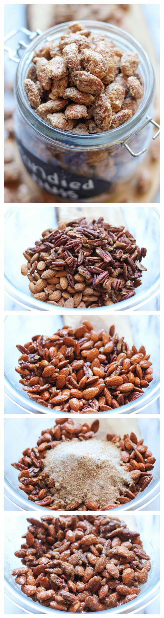 ... Sugar Candied Nuts | Recipe | Candied Nuts, Cinnamon and Sugar